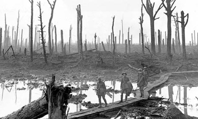First battle of Ypres (Flanders, Belgium)