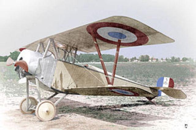WW1 fighter planes