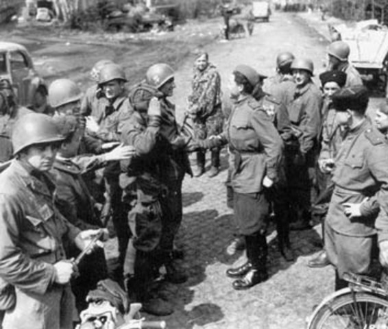 The Russians agreed to stop fighting against Germany