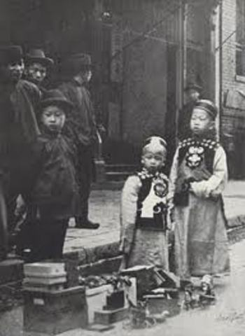 Chinese Immigration and Exclusion Acts