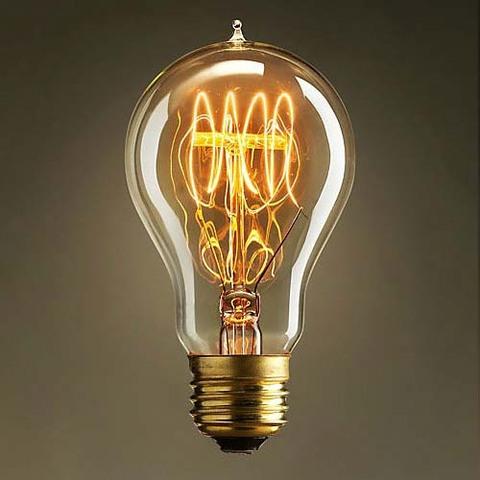Invenció de la làmpada incandescent d'Edison