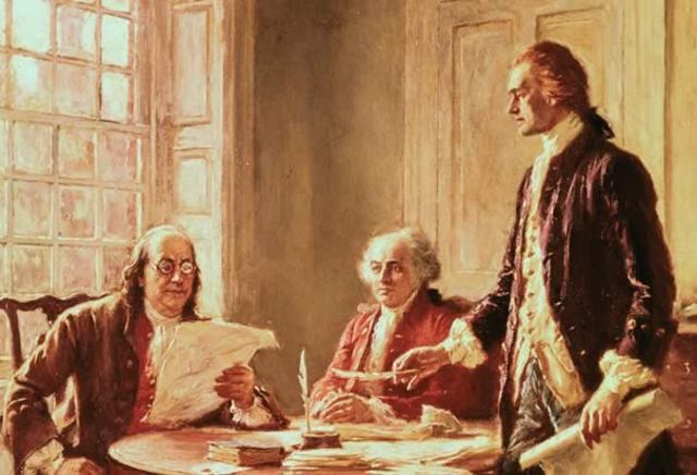 declaration of Independence drafted and signed