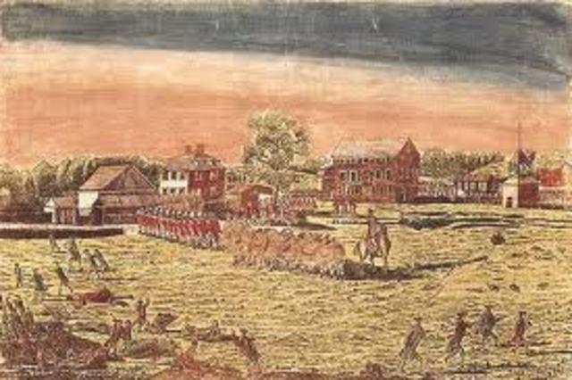 battles of Lexington and concord ; second contienenal congress