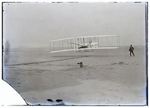 Invenció de l'aeroplà dels germans Wright