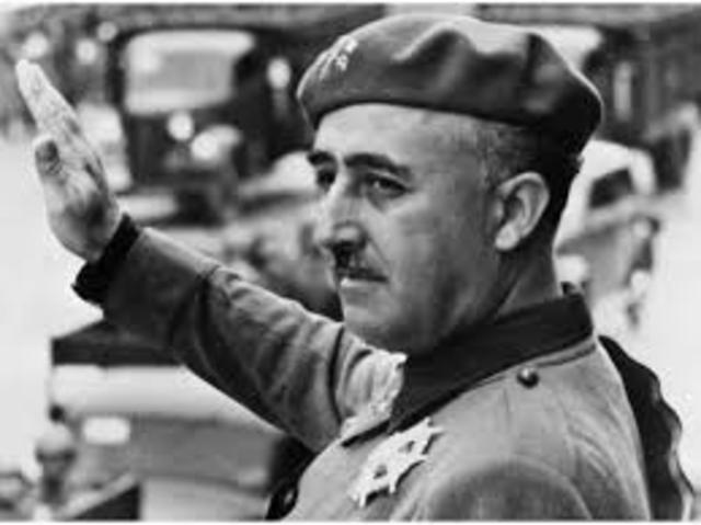 Franco, Cap d'Estat.