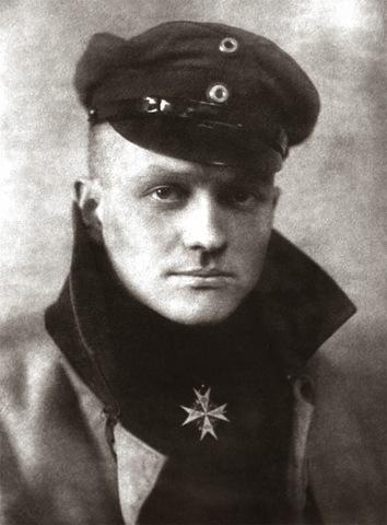 German Baron Manfred von Richthofen, is shot down.