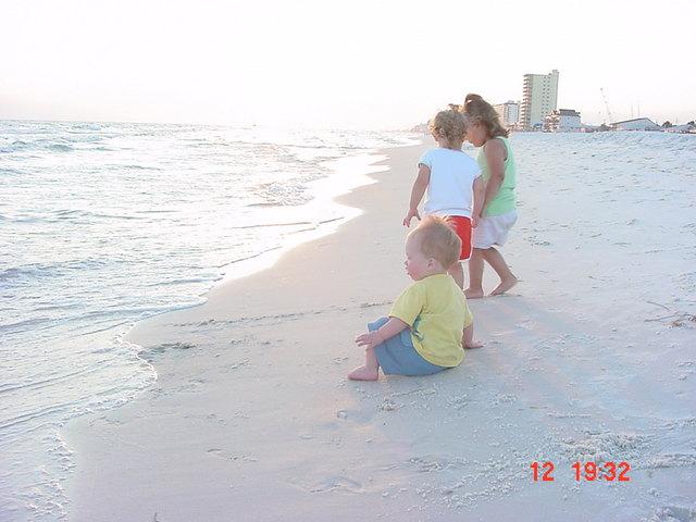 Visité la playa el veinte do junio, dos mil uno.