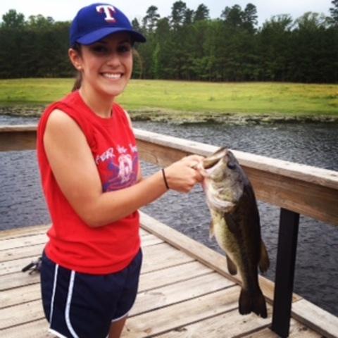 Pescé el pez grande el cuatro do mayo, dos mil catorce.