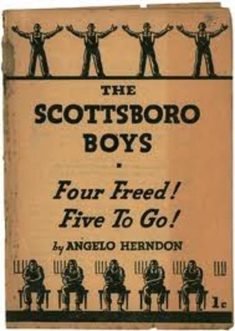 Many of the Scottsboro Boys Released