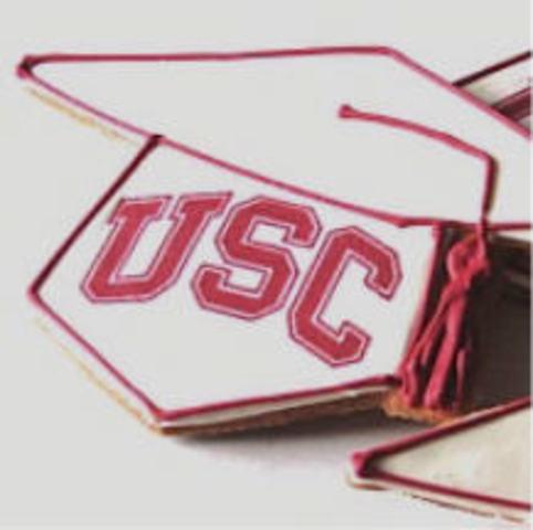 Me gradué de la USC
