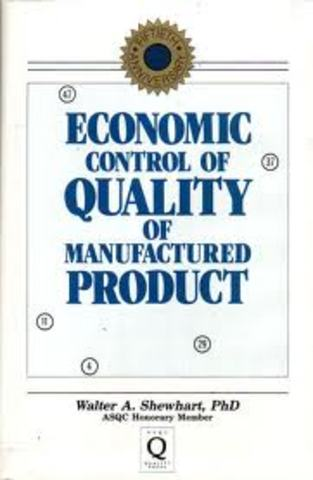 Economic control of quality of manufactured product