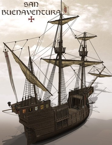 Ieyasu commands William Adams to help build a English sailing ship