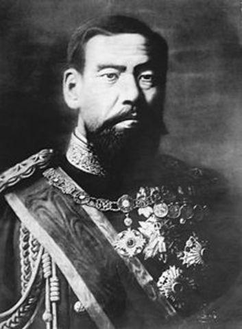 Emporer Meiji is born
