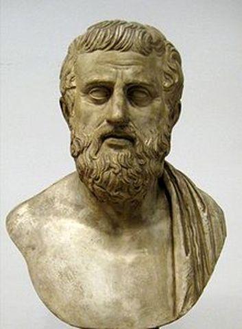Sophocles death 406/405 BCE