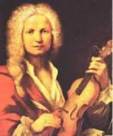 Antonio Vivaldi birth