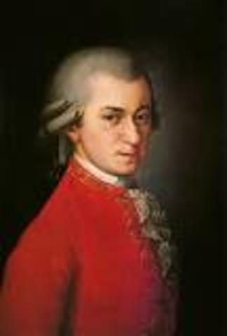 Wolfgang Amadeus Mozart birth