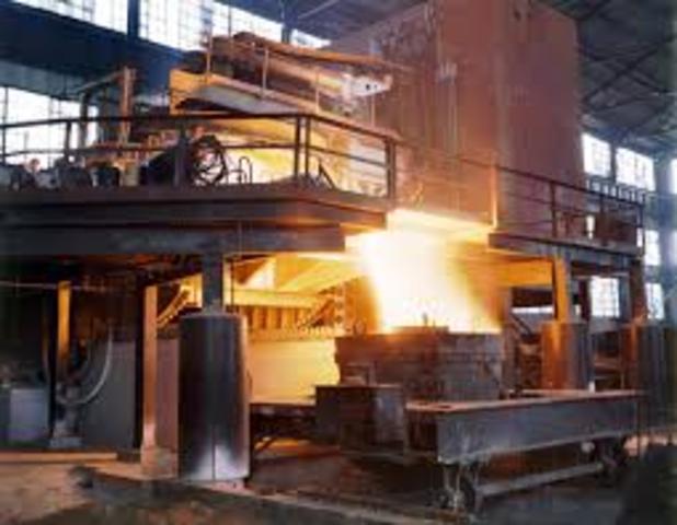 Metal·lúria industrial d'acer