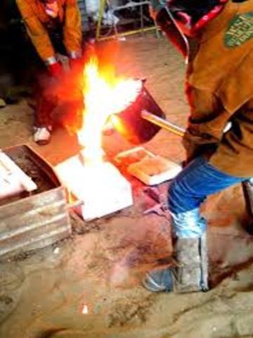 Metalurgia industrial d'acer