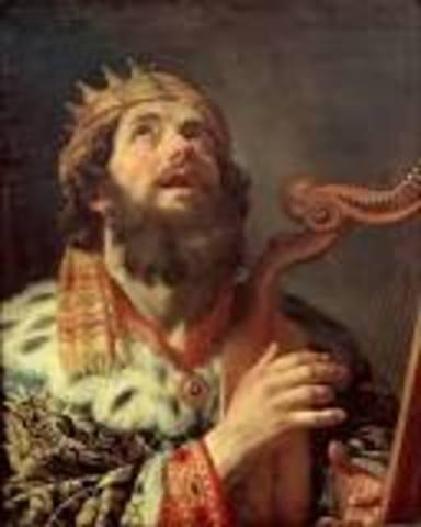 David born 1040 bc