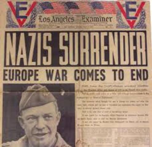 Germans Surrender to the Allies