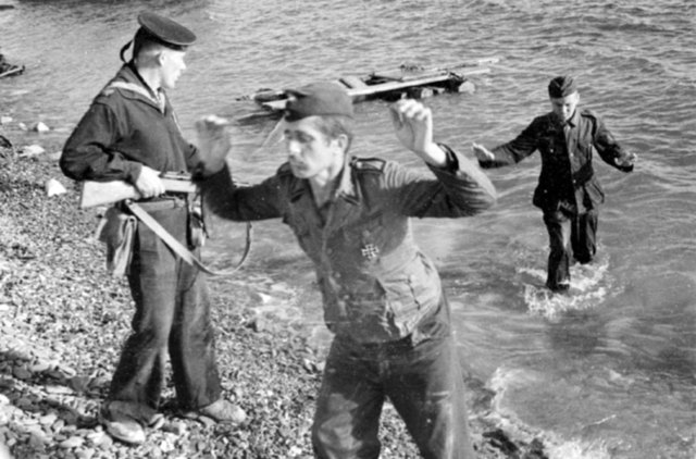 Germans Surrender to the Soviets