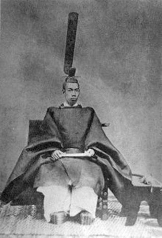Meiji is crowned Emperor