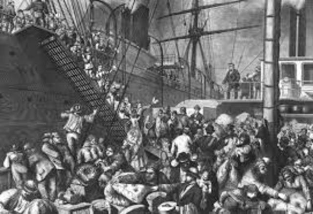 german immigrant arrive in pennsyvania