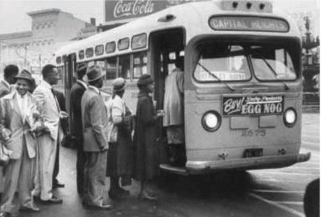 Montgomery bus Boycott (description)