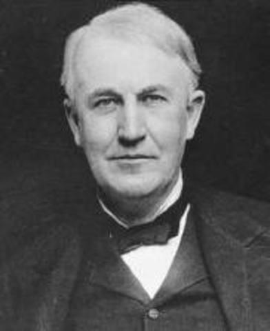Edison improves lightbulb