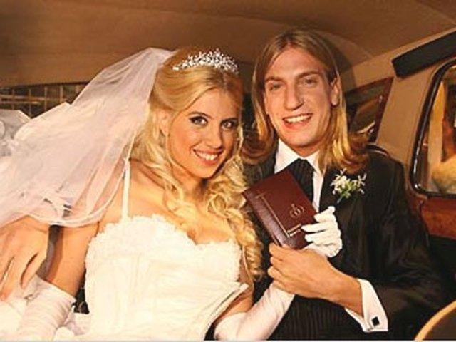 Primer casamiento de Wanda