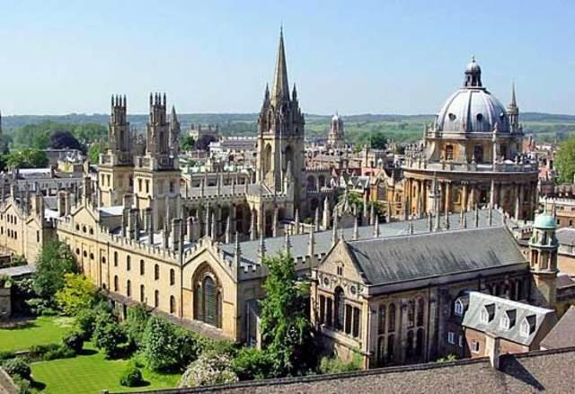 Fui a la Universidad de Oxford