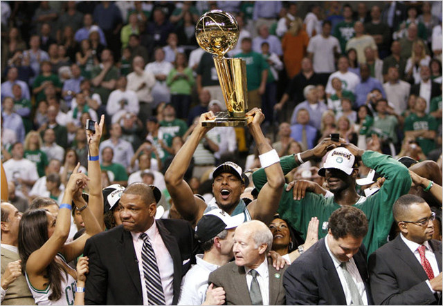 Los Celtics ganaron el campeonato