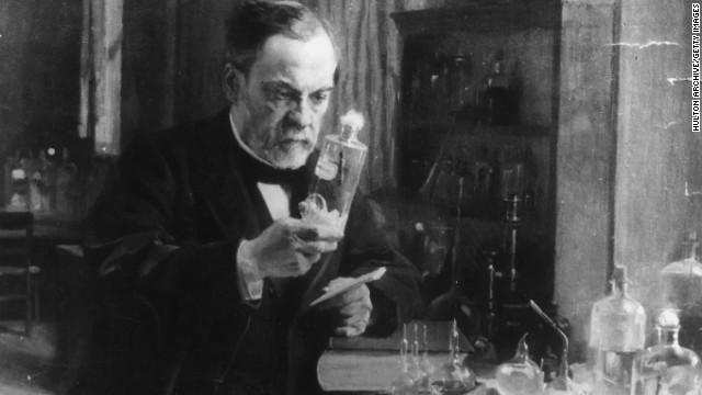 Louis Pasteur develops vaccines for diseases.