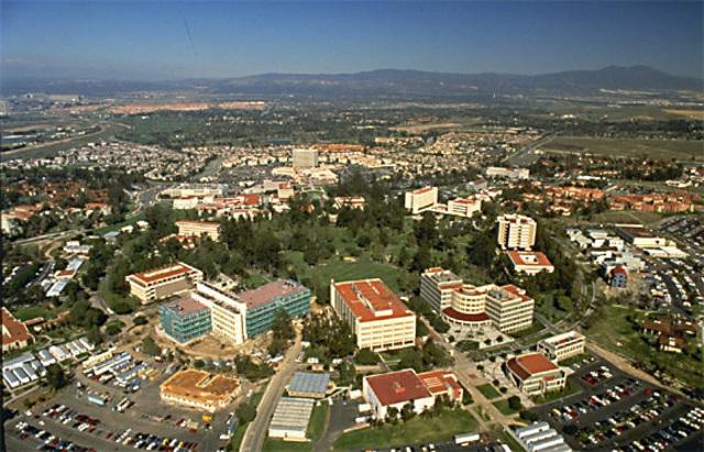 Llegué a la Universidad de California de Irvine