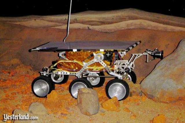First Mars Rover Arrives on Mars