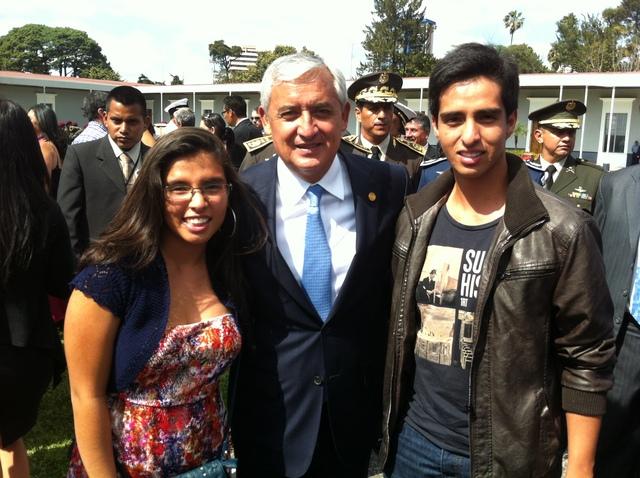 Me Encontre con el Director en Jefe de Guatemala
