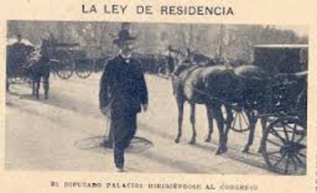 LEY DE RESIDENCIA