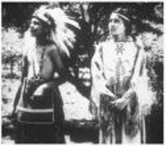 Cherokees settle in Texas.