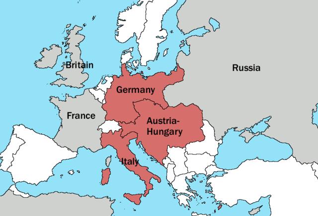 Austria-Hungary seek help from Germany