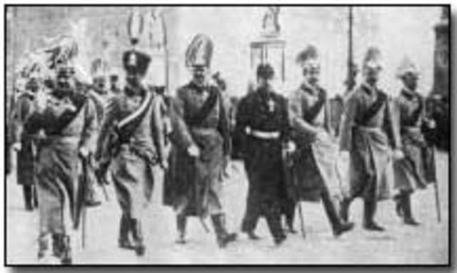 Austria-Hungary gives Serbia an ultimatum