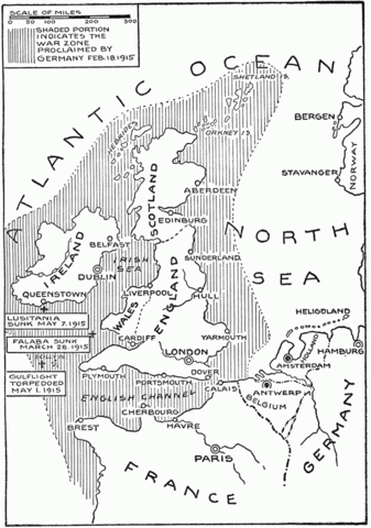 North Sea is annonced as Millitary Area