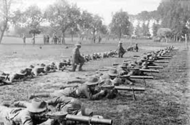 Battle of Ypres Begins