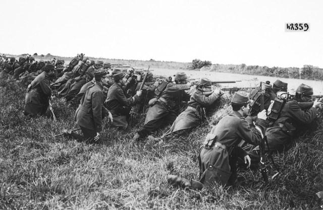 The Battle Of Marne Begins