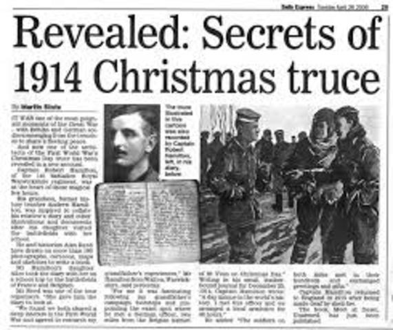 The Unofficial Christmas Truce is Declared