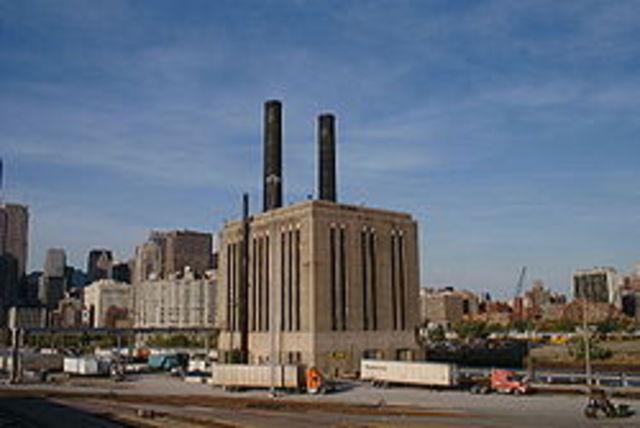La central elèctrica