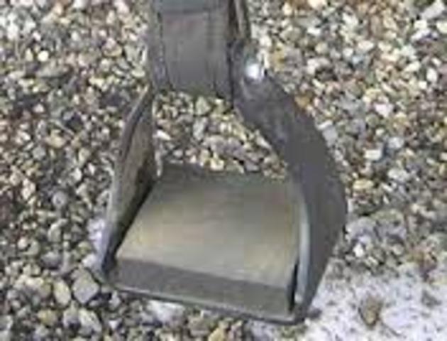 Invenció de l'estrep