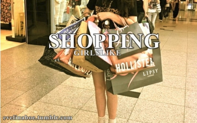 gone shopping with a friends