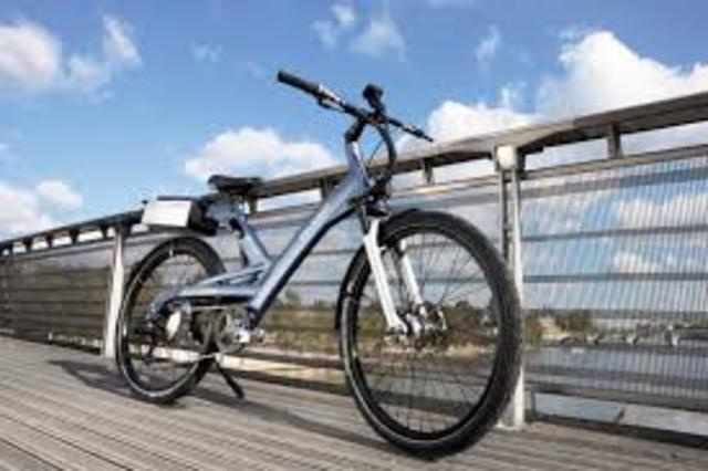 Bicicleta a pila