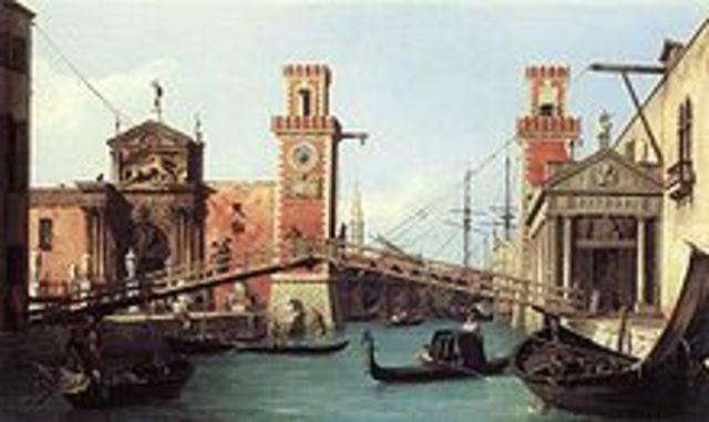 Es comença a construr l'Arsenal de Venècia