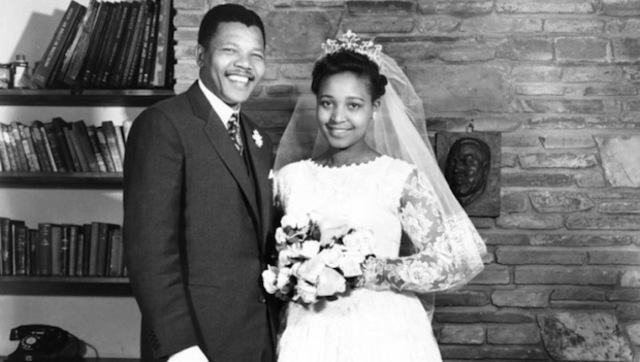 Nelson Mandela first Marriage